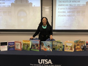 Dr. Pittman Presents at UTSA