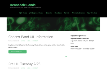 Check Out The Band Website!