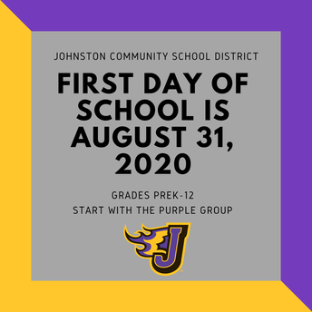 ICYMI: First Day of School is August 31