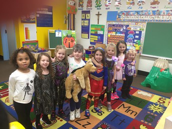 Happy Halloween from preschool