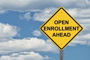 Open enrollment window is open