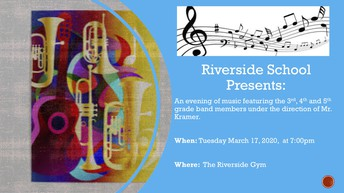 Riverside School Band Concert