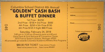 Join us for the 4th Annual Columbia Cash Bash!