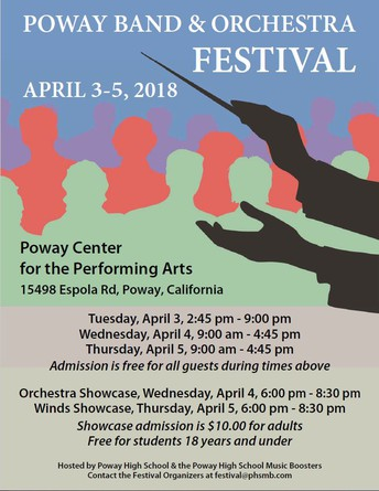 Don't Miss the PUSD Band and Orchestra Festival