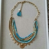 SOLD / Isa Disc Necklace - $70