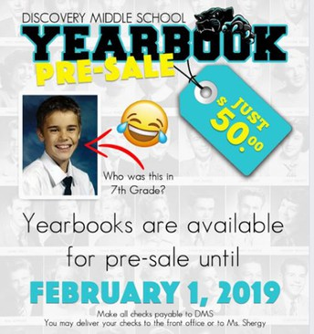 DMS Yearbooks Available for Pre-Order