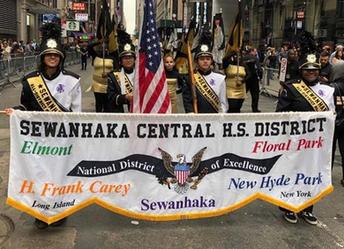 District Band at Columbus Day Parade