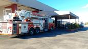 Touring a Fire Truck.