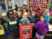 Reading Banner Winning Class
