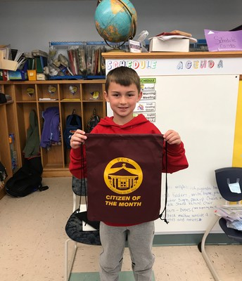 March Citizen of the Month - 2nd grade