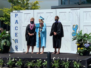 photo of LHS graduation ceremony