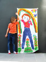 Life-Size Portrait of Character