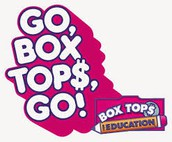 Thank you to everyone who brought in BOX TOPS in April!