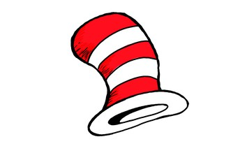 Celebrate Dr. Seuss's birthday by wearing a hat to school!