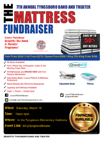 Band and Theater Fundraiser