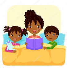 Be Engaged:  Families who read together succeed together.