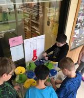 Filling up buckets!