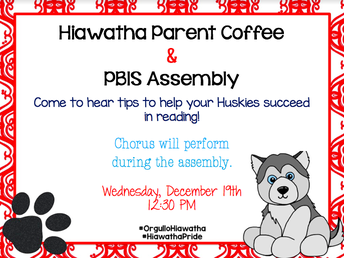 Parent Coffee and PBIS Assembly