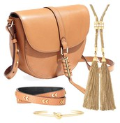 Covet Sloane Saddle Leather Bag