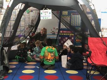 Kinder Camp Reading!