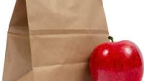lunch bag and apple grab and go meals