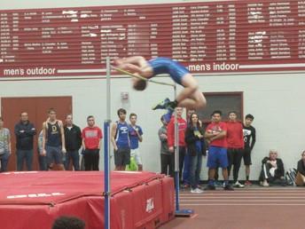 Trevor Thomson record-breaking High Jump