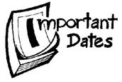 School & PTA Dates