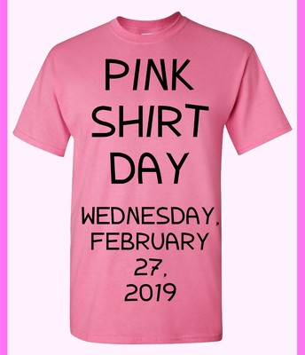 REMEMBER that you don't have to buy a shirt; just wear PINK !