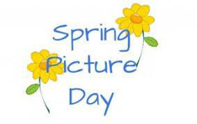 Spring Pictures and Class Picture Day - April 6th         Kindergarten M/W only - April 7th