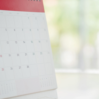 Rachel's Rosedale Schedule