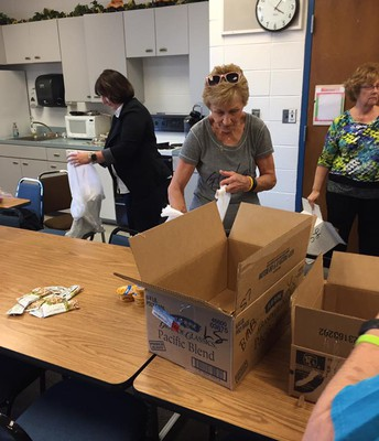 Blessings in a Backpack at Lincoln School