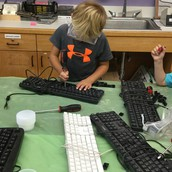 Learning how keyboards work at Brewster