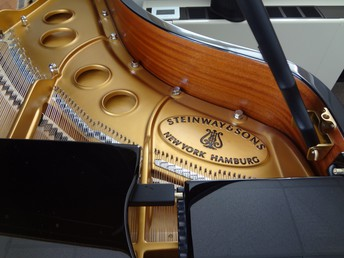 Inside the new piano