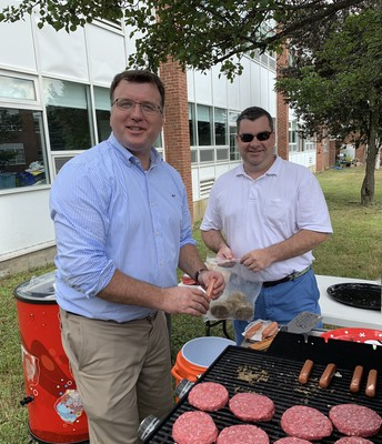 COOKOUT FOR SUMMER EMPLOYEES