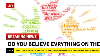 Do you belive everything on the Internet?