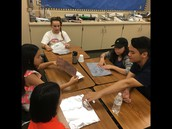 Foil Island Challenge in Mrs. Parker's class