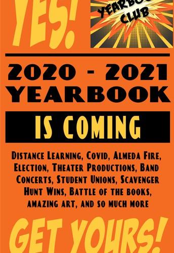 YEARBOOK PRE-Order deadline is coming soon!