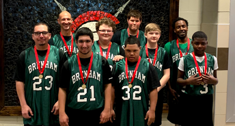 Brenham Special Olympics Unified Basketball team earns gold medal