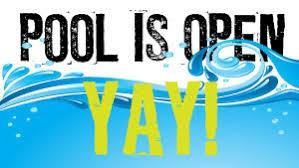 Pool Season is Open!