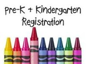 PreKindergarten & Kindergarten Registration for 2020-21