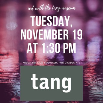 Art with the Tang Museum - Half Day Program