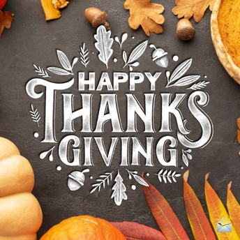 Thanksgiving Wishes!