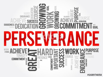 Character Trait of the month of March: Perseverance
