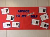 Advice to My High School Self