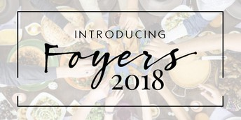 Foyers 2018 Talk during the Dean's Hour