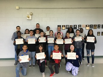 Birchwood Student of the Month Assembly