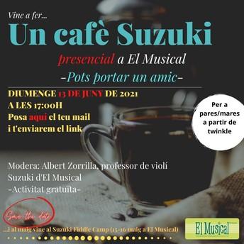 Últim Cafè Suzuki del Curs - Pots portar un amic!