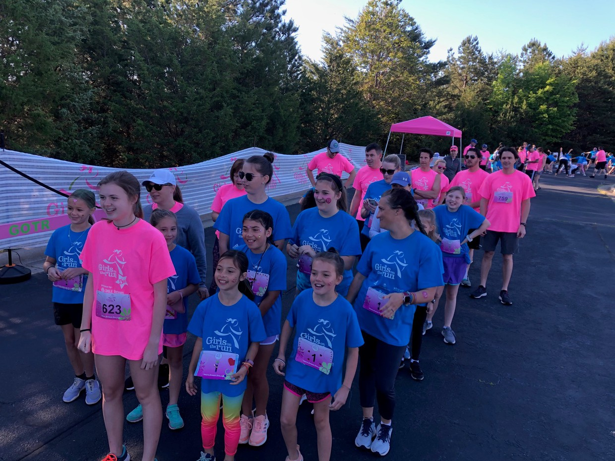 Our CPES Girls at their Girls on the Run Race Saturday