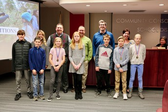 Board recognizes D15 Cross Country Invitational winners