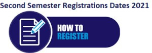 Registration for Second Semester Learning Models
